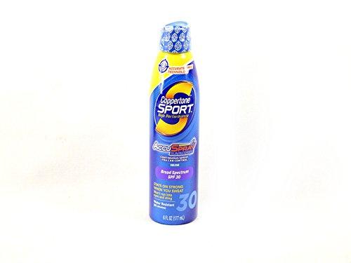 Coppertone Sport Performance AccuSpray Sunscreen