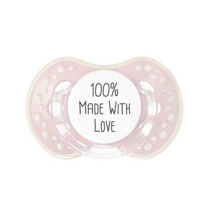 100% Made With Love - + 6 M - Chupete Fisiologico de ...