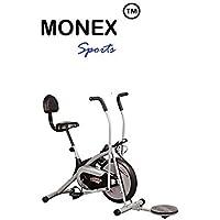 Monex Gym Air Bike Platinum Dx with Backrest and Twister