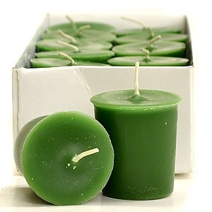 SNS Votive Candles for Wedding/Dinner, Holiday Event, Home Decoration, 12 to 15 Hours,1.75 in. Diameter x 2 in. Tall, 12 per Box, Bayberry (Cherry Cobbler Candle)