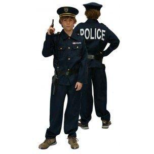 Polizeikostüm für Kinder Gr. 128