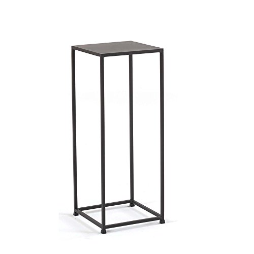 Medium Art Pedestal (tag - Urban 30-Inch Pedestal, A Perfect Addition to Any Home, Mild Steel Top with Coco Finish)