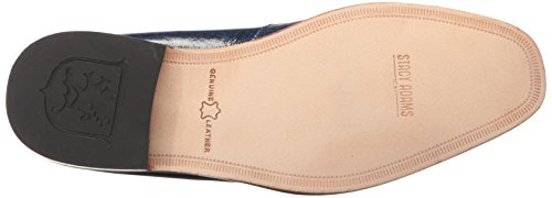 Stacy Adams Men's Santiago-Moc Toe Bit Slip-On Loafer Blue discount free shipping looking for cheap online wiki buy cheap tumblr VcXfb3C