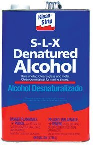 Klean-Strip GSL26 Denatured Alcohol, 1-Gallon by Klean-Strip