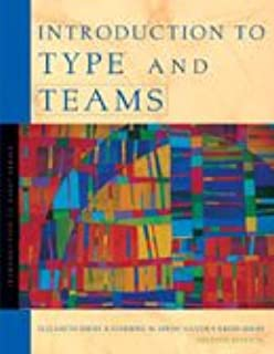 Introduction to type and teams 2nd edition: elizabeth hirsh.