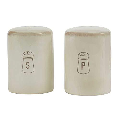 Park Designs Villager Salt & Pepper Set - Cream