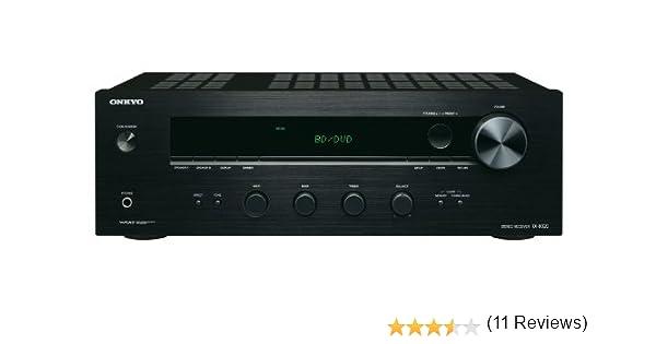 Onkyo TX-8020-B - Receptor esterero (90 W por canal, 3 entradas analógicas y 5 entradas digitales) color negro