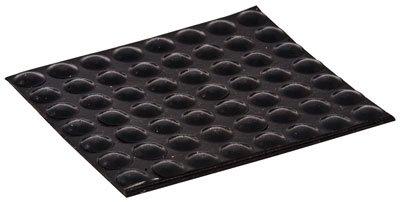 [해외]고무 피트 접착 성 반구 검정색 0.335 인치 x 0.085 인치 (100 피스 팩)/Rubber Feet Adhesive Hemisphere Black 0.335 Inch x 0.085 Inch (100 Piece Pack)