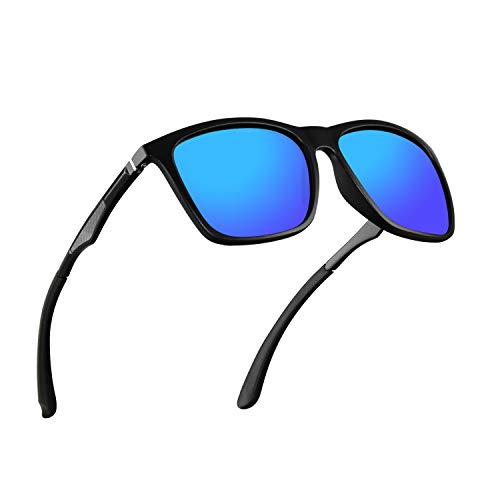 Polarized Sunglasses for Men Aluminum Mens Sunglasses Driving Rectangular Sun Glasses For Men/Women -