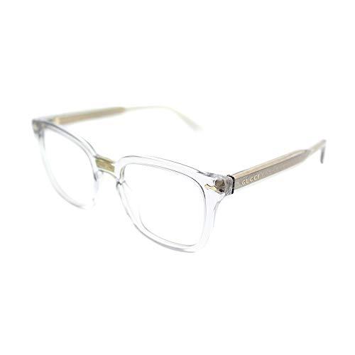 Gucci GG0184O ‑ Gray 005 (Eyeglasses Frame Men)