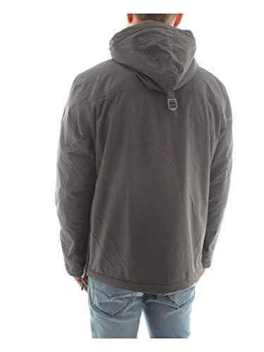 Grau Napapijri dark Grey Rainforest Uomo Winter Solid 198 Giacca H6wSI6gqx