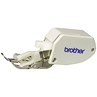 Brother Open Toe Walking Foot for Quilting and Sewing Multiple Layers, SA188,SilverWhite
