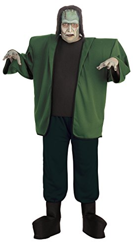 Couples Costumes Scary (Rubie's Rubie's Men's Plus Size Universal Studios, Classics Collection, Frankenstein,)