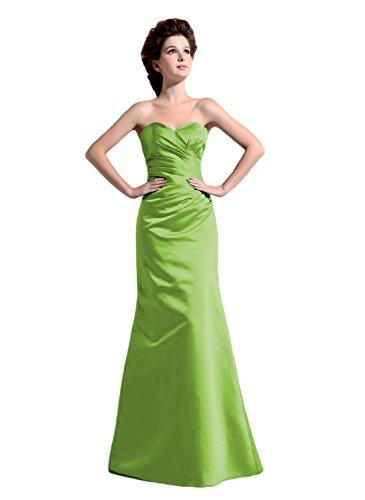 Bridal_Mall - Robe - Trapèze - Sans Manche - Femme -  Vert - 44