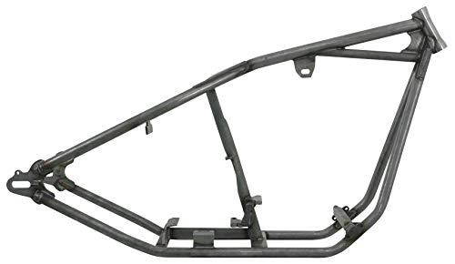 Kraft/Tech Rigid Straight Backbone Style Frame for Big Twin - 30deg. - 0in. Stretch K16004