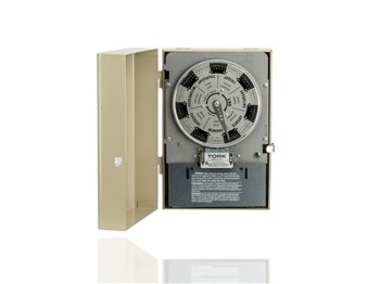 Tork W400BL 7 Day 4PST Mechanical Time Switch with Reserve Power by NSI (Image #2)