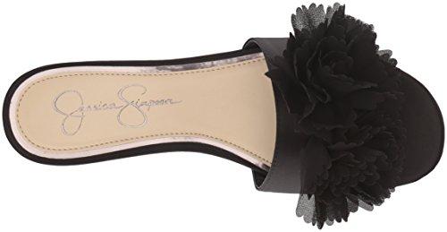 Satin Black Femmes Femmes Slide Chaussures Chaussures Black Satin Slide Femmes Black Satin Slide Femmes Chaussures 6vqO6nr