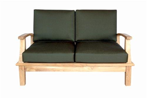 Anderson Teak DS-102 - No Cushion Brianna Deep Seating Loves