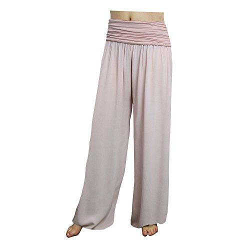 Glamexx24 mujer para Pantalón Pantalón Braunblaucream Glamexx24 para xSqvznwU6