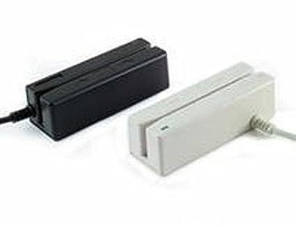 Track 1 2 USB Keyboard Emulation Idtech IDMB-334133BM MiniMag II MagStripe Reader Black and 3