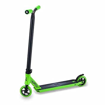 Patinete Sacrifice Flyte 100 - negro y verde: Amazon.es ...