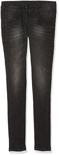 TOM TAILOR KIDS Grey Skinny Treggings, Jeans para Niñas Negro (Dark Stone Black Denim 1299)
