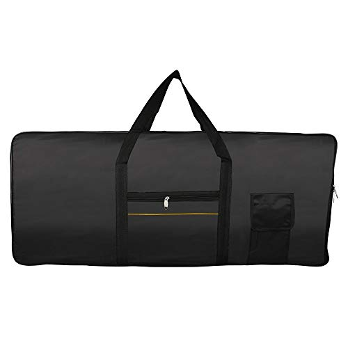 Price comparison product image Sala-Fnt - Portable 61-Key Keyboard Electric Piano Padded Case Gig Bag Oxford Cloth