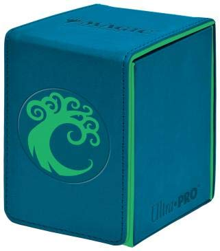 Ultra Pro 100ct Alcove Flip Deck Box MTG Guilds of Ravnica Simic by Ultra Pro