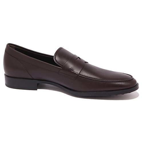 Man Loafer Uomo Mocassino Brown Marrone Gomma Tod's Shoe 4309q n4P6qSTx