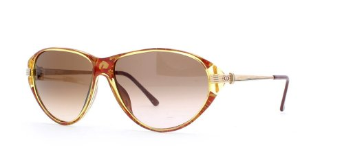 Christian Dior 2668 30 Gold and Red Authentic Women Vintage - Sunglasses Christian Vintage Dior
