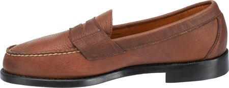 Sebago Men's Crest Cayman II Slip-On Loafer Brown Horween Bison Leather ceA5E2n
