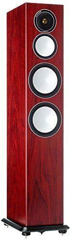 - Monitor Audio - Silver Series 8- 3-way Floorstanding Speaker - Each - Rosenut