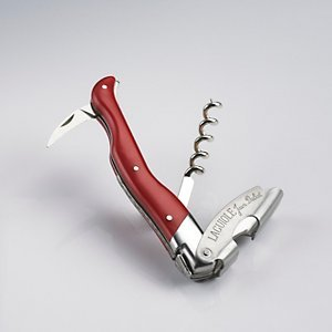 Laguiole Millesime Red Waiter's Corkscrew