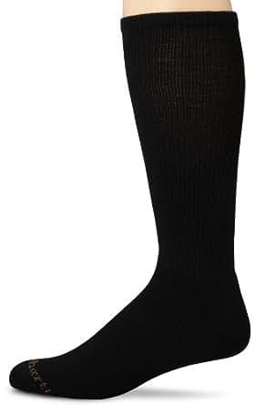 Carhartt Mens Work-Dry Lightweight Western Boot Over-The-Calf Socks,  Black, Shoe: 6-12