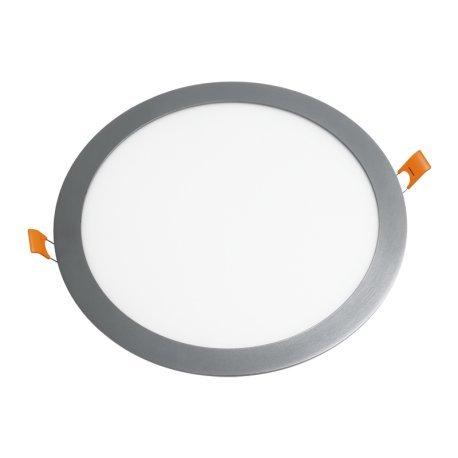 Alverlamp DL12PL60AL - Downlight led empotrar smd redondo 12w 6000k aluminio: Amazon.es: Bricolaje y herramientas