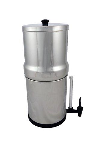 Big Berkey The best quality Filter--4 Black Berkey Filters and Water View Spigot