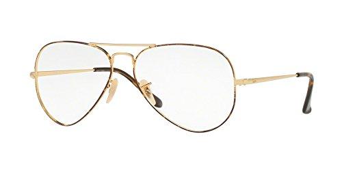 Ray-Ban Aviator RX6489 - 2945 Eyeglasses - Eyeglasses Ban Aviator Ray