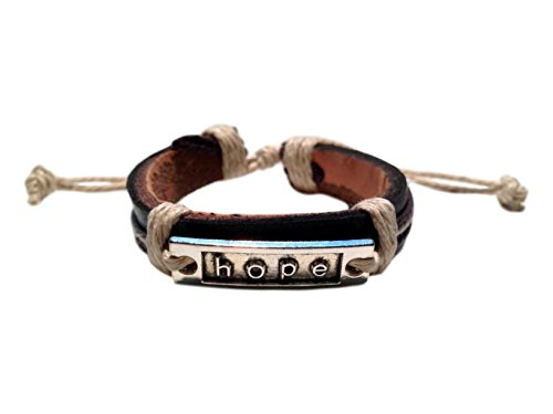 Inspirational 'Hope' Adjustable Tribal Bracelet - Jb Vintage Bracelets