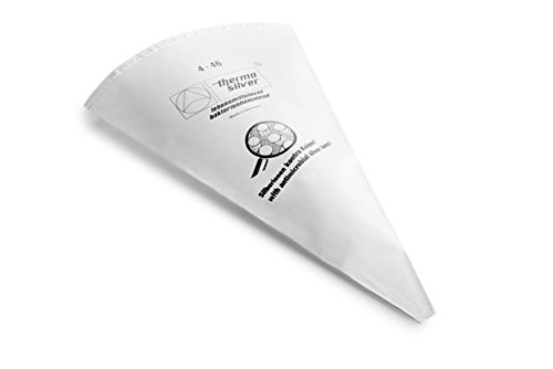 Thermohauser Silver Pastry Bag44; 21 in. - Set of 6