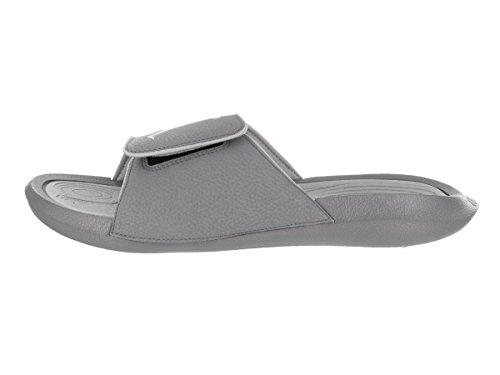 9637ccf70 Nike Jordan Hydro 6 Black White Wolf Grey Men s Sandals Size 9 ...