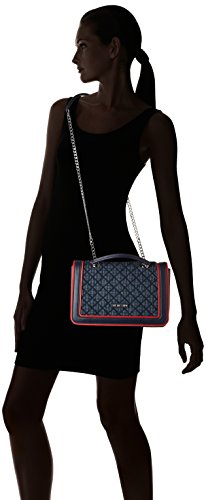 hombro Moschino Shoppers H 6x18x30 x Blau T y B Moschino Mujer Love Denim cm bolsos de 5EqYYR