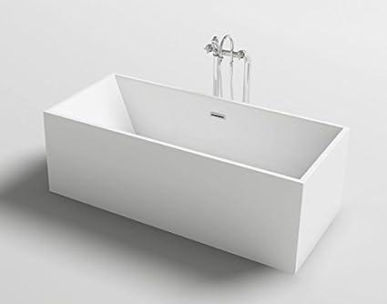 Vasca Da Bagno Freestanding Rettangolare : Vasca da bagno freestanding rettangolare stile design