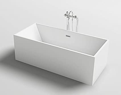 Vasche Da Bagno Design Moderno : Vasca da bagno freestanding rettangolare stile design