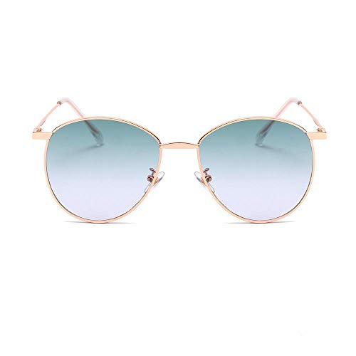- KoKoBin Stylish Aviator Sunglasses for Men Womens Classic Unisex Driving Sun Glasses Retro Vintage Shades Flat Tinted Lens Cyan