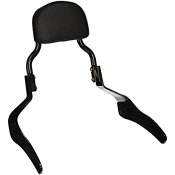 Kawasaki K53020-377B Black Passenger Backrest