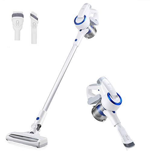 Vanergy Cordless Vacuum Cleaner, Stick Vacuum 2 in 1, 150W Brushless Motor, 5 Stage Hepa Filter, Detachable Lithium Battery Ultra-Wide Roller Brush, for Deep Cleaning and Pet Owner