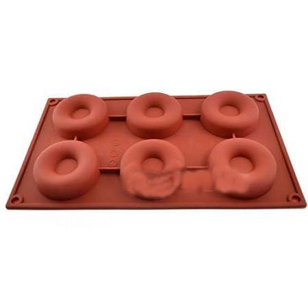 Molde de silicona con forma Candy Jelly Donut de horno Chocolate ...