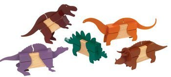 Guidecraft Block Mates (Dinosaurs) by GuideCraft by Guidecraft
