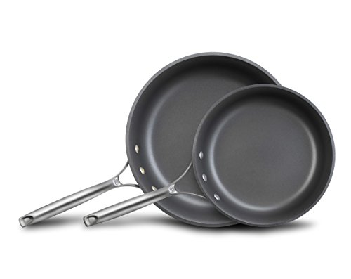 Calphalon Unison Nonstick Slide Surface Omelette Fry Pan, 10-Inch and 12-Inch, ()