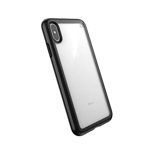 Speck Products Presidio Show iPhone Xs Max Case, Clear/Black